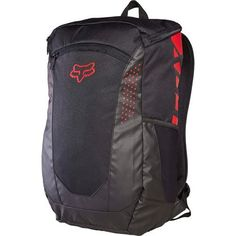 Fox Decompress Backpack Black/Red