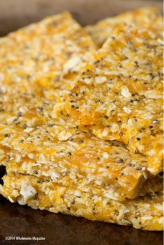 South Dakota Food Ginger Mango Bars  |  Wholesome Magazine  #wholesomesd #southdakota