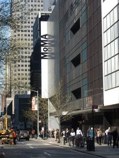 Museum of Modern Art (MoMA) on 53rd Street in New York City