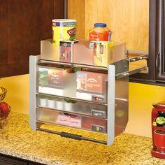 Rev-A-Shelf Universal Wall Cabinet Pull-Down Shelving System