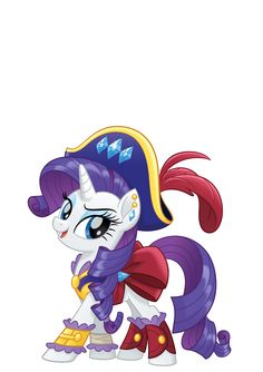 MLP Movie Vector Pirate Rarity