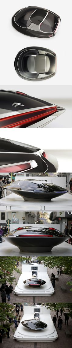 ♂ Futuristic transportation Citroen's UFO Concept Car