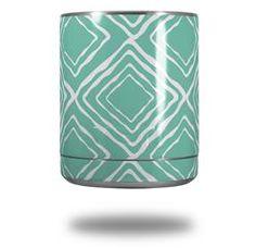 Wavey Seafoam Green - Decal Style Skin Wrap fits Yeti Rambler Lowball (YETI NOT INCLUDED)
