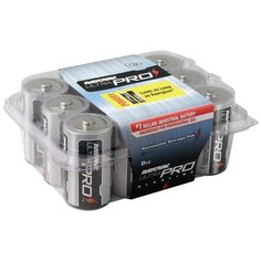 RAYOVAC ALD-12 Industrial D Cell Battery 12-Pack