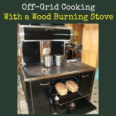 Learn what you can do in an off-grid kitchen!  Cooking Off Grid With a Wood Burning Stove | Backdoor Survival