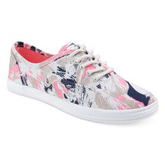 Women's Lunea Floral Print Sneakers - Multi-Colored 7