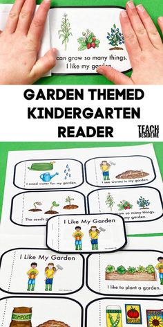 Teach kids to read this Spring with a fun garden-themed easy reader book for Kindergarten! Homeschool Kindergarten, Teaching Kindergarten, Teaching Kids, Autism Teaching, Toddler Learning, Reading Activities, Activities For Kids, Guided Reading, Reading Lessons