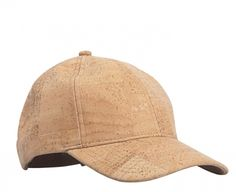 Casual and trendy sports cap made of cork skin. The stylish accessory in a neutral color. Light, water repellant. Cool with personalized company logo on!!