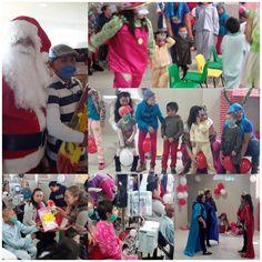 Disfrutan con divertida posada navideña y la visita de Santa Claus los niños de la Escuelita Hospitalaria del Infantil | El Puntero