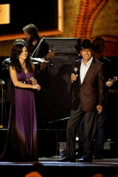 Just saw these two in San Antonio June 1, 2013 for George Strait's farewell tour