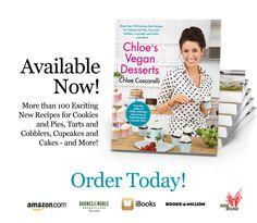 Chloe's Vegan Desserts by Chloe Coscarelli