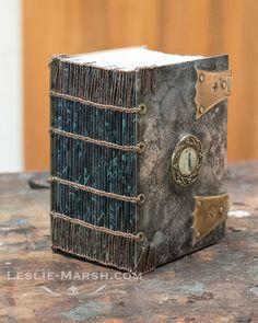 Leslie Marsh: Coptic-bound clasp book