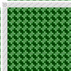 draft image: Figurierte Muster Pl. XXIX Nr. 16, Die färbige Gewebemusterung, Franz Donat, 8S, 8T