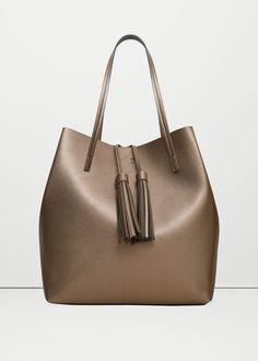 Tassel shopper bag | MANGO