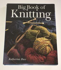 Katharina Buss Big Book of Knitting HCDJ   eBay