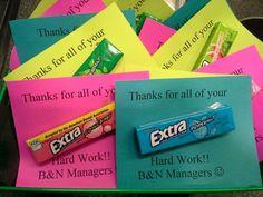 Day 1 Of Employee Appreciation Week Employee Appreciation Ideas Appreciation Gift Ideas For Employees Employee Appreciation Gifts, Employee Gifts, Teacher Appreciation Week, Gifts For Employees, Employee Rewards, Staff Gifts, Gag Gifts, Teacher Gifts, Volunteer Gifts