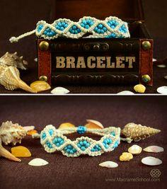 DIY WavyLeaks Bracelet :) Easy Macrame Tutorial #DIY #Bracelet