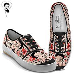 Betty Boop Women's Shoes. Love it