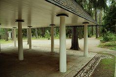 Skogskyrkogården: Woodland Cemetery, Stockholm  Woodland Chapel Gunnar Asplund, 1920