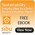 "Thanks, Rona Berg from Organic Spa Magazine, for contributing to our new eBook, ""Sustainability: Everyday Ideas for a Better You and a Healthier Planet"". @Sibu Beauty"