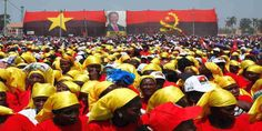 """Top News: """"ANGOLA POLITICS: Election Update: MPLA Takes Commanding Lead"""" - http://politicoscope.com/wp-content/uploads/2017/08/Supporters-cheer-as-Joao-Lourenco-presidential-candidate-for-the-ruling-MPLA-party-speaks-at-an-election-rally-in-Malanje-Angola.jpg - The MPLA calculated earlier on Thursday that after checking 5 million votes it was on course for the two-thirds majority that is required to govern alone.  """"We can affirm that the future president will be comrade J"""