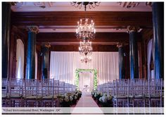 Breathtaking ceremony by planner @TerriBergman @WillardHotel. Meet with her on Sunday for #Engaged2013! #wedding #DC