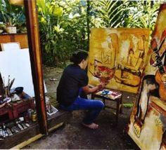 Le peintre Tehina cité dans le National Geographic
