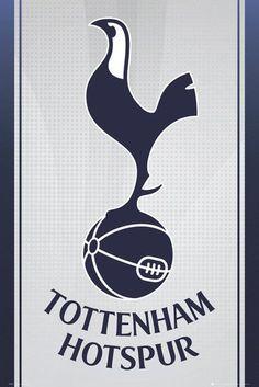 Tottenham Hotspur FC Poster Spurs F.C. Football Club Crest Wall Art Large  Maxi dc37bb5af