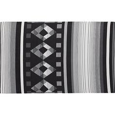 diamond days reversible outdoor rug 5'x8'  | CB2