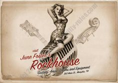 Rumble59 Poster - Rockhouse
