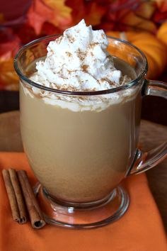 Hungry Spice Girl Pumpkin Latte! This time of year, like many of you out there, we really, really want PUMPKIN SPICE! Just 97 calories!