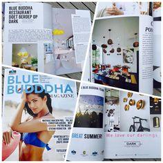 BLUE BUDDHA restaurant doet beroep op DARK® #lighting #bluebuddha #magazine #DARK #darlings #hospitality #Knokke #design #concept #interiordesign