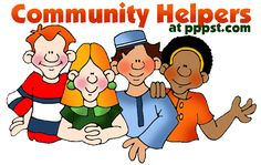 Community Helpers - FREE Presentations in PowerPoint format, Free Interactives and Games, too!