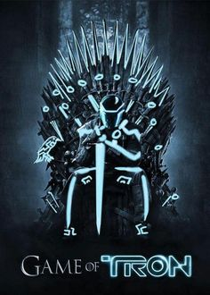 Funny pictures about Game Of Tron. Oh, and cool pics about Game Of Tron. Also, Game Of Tron photos. Tron Legacy, Trondheim, Maquillage Phosphorescent, Tron Game, Zombies, Humour Geek, Humor, Lego, Hbo Game Of Thrones