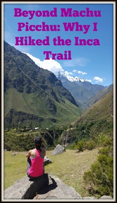 There's so much more to Machu Picchu than #MachuPicchu. The #IncaTrail takes you on an unbelievable journey.