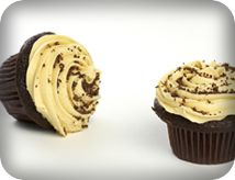Peanut Butter Frosted Chocolate Chip Cupcakes | Arrowhead Mills