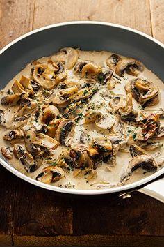 Snelle champignonsaus…Klaar in minder dan 5 minuten!