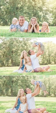 Family photography posing ideas | family of four posing | children photography | natural light photography | northern va photography | joy han photography | www.joyhanphotography.com