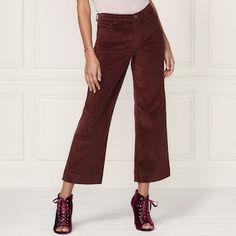 LC Lauren Conrad Runway Collection Wide-Leg Ankle Corduroy Pants - Women's   null