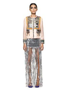 embellished jacket - tete by odette