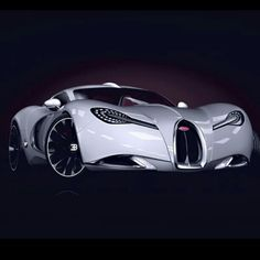 The beautiful Bugatti Gangloff Concept car