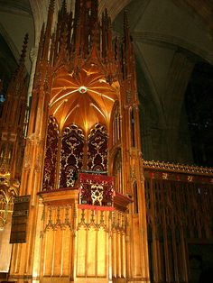 York Minster Quire Pulpit