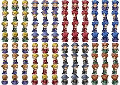 RPG Maker VX Community > Kazzador's Sprite Sheets and Characters.