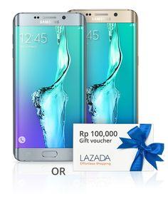 Qerja Lazada Undian Berhadiah Smartphone Samsung Galaxy S6 Edge+ Gratis #berbagi