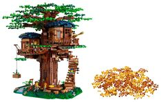 Detailed Tree House model to challenge LEGO® builders and inspire endless play!