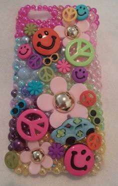 Peace Love and Hippies Cell Phone Case Homemade 5 6 7 8 9 x xr Max xs Plus Samsung Galaxy Note 10 11 pro Samsung Galaxy Phones, All Iphones, Make A Case, Have A Great Day, Cell Phone Cases, Peace And Love, Handmade Items, Homemade, Create