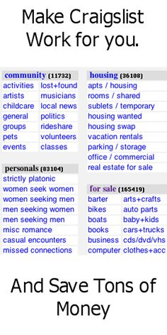 Get alerted when the thing you want shows up on Craigslist.