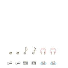 Music and Cheer Earring Set