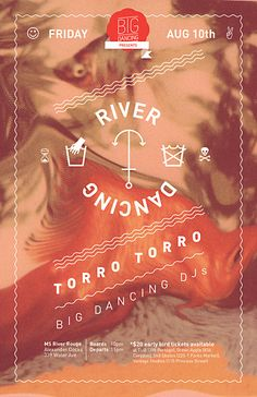 Another version of the River Dancing poster.