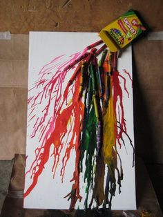 More Melted Crayon Art By PrinceJillian On DeviantART